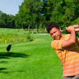 golf jeune