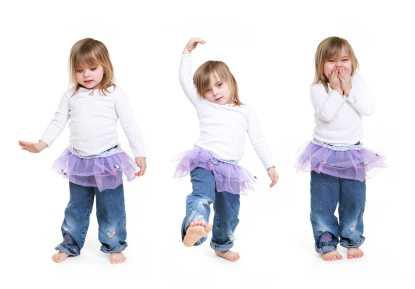 petits pas de danse