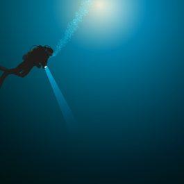 plonge - plonge sous-marine - plongeur - mer -seul - ocan - sport