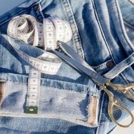 Couture réparation main